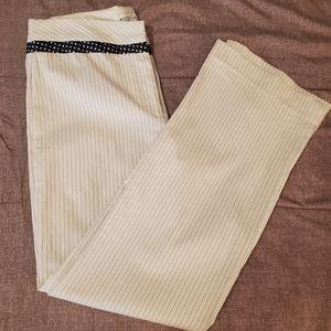 3x$20 ❤ Vintage WHBM striped suit pants
